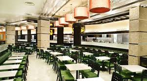 stylish and casual fine dining restaurant interior design of
