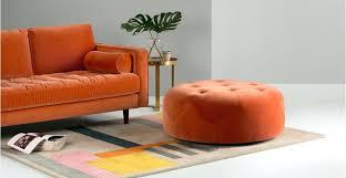 Orange Ottoman Orange Ottoman Ottom Orange Ottoman Tray Sensuuri Info