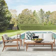 teak outdoor furniture williams sonoma
