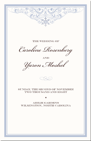 christian wedding program benedikte s jossan 39s christian wedding invitation