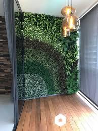 Vertical Garden For Balcony - artificial green wall inspiration absolut outdoors