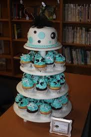 boy baby shower cupcake tower lala inspirations pinterest