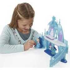 disney frozen little kingdom elsa u0027s frozen castle walmart com
