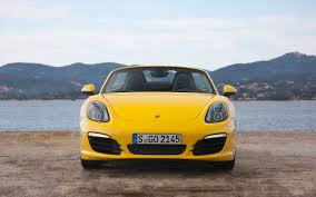 yellow porsche boxster new boxster racing yellow the money shots page 1 porsche