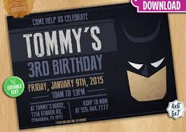 8 batman invitation designs jpg vector eps ai illustrator
