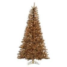 vickerman 7 5ft pre lit artificial tree metal tinsel