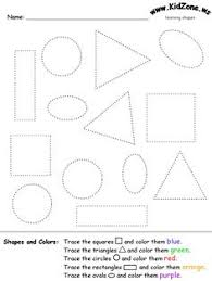 trace and count oval shapes