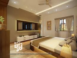 Interior Designers In India by Comfortable Bedroom Interior Design 3d Rendering By Hs3d India