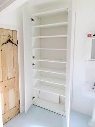 Ikea Use Great Use Of An Ikea Pax Wardrobe In A Bathroom Flat Pack