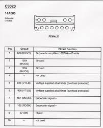 ford sony amp wiring diagram wiring diagrams