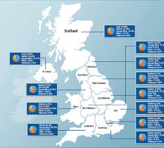 Map Of Ireland And England by Uk Genetic Study Reveals Yorkshire Is Most Anglo Saxon And East