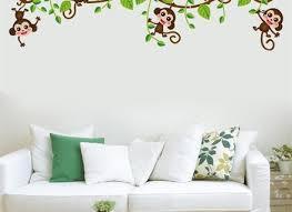 safari pride jungle tree wall decals wall murals you u0027ll love