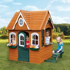 big backyard playhouses home outdoor decoration