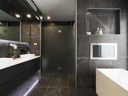 Award Winning Monochromatic Bathroom By Minosa Design by These Practically Perfect Kitchens And Bathrooms Make Keeping Them