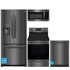 frigidaire fghb2867td bs black stainless steel complete kitchen