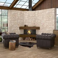 Stone Wall Tiles For Living Room Stacked Limestone Effect Tiles Cusco Dry Stone Wall Effect Tiles
