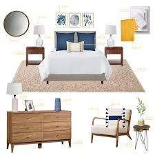 how to refresh your bedroom on a budget emily henderson emily henderson target bedroom coastal