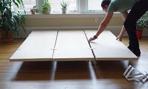 How To Build A Wood Platform Bed Frame by Floyd Diy Platform Bed Frame Spicytec