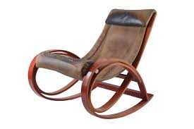 Rocking Chair Sgarsul Rocking Chair By Gae Aulenti For Poltronova 1962 For Sale