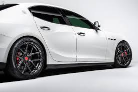 black maserati sports car vorsteiner vff 101 wheels black rims 101 20110 5130 55c 71 mb k