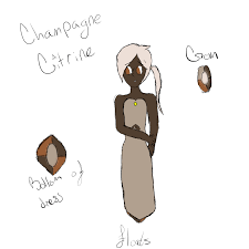 champagne cartoon champagne citrine by gemsona mania on deviantart