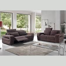 canape relax design contemporain canapé relaxation design moderne têtières réglables cuir microfibre