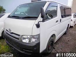 hiace used toyota hiace van from japan car exporter 1110500 giveucar