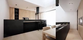 table cuisine blanche aménagement cuisine blanche et bois 35 idées cool