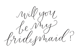 bridesmaid invitations template will you be my bridesmaid of honor free printables cards