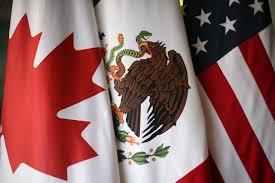 Bald Eagle On Flag Ausstieg Immer Wahrscheinlicher Kanada Bereitet Sich Auf Nafta