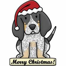 bluetick coonhound reviews cartoon bluetick coonhound christmas ornament zazzle com