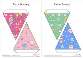 Easter Decorations Bunting by Easter Decorations