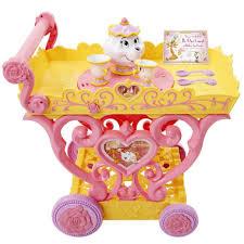 disney princess belle musical tea party cart toys