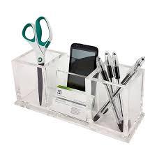 amazing acrylic desk organizer with vandue corporation ondisplay pierce deluxe desktop plan 5