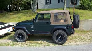 green zombie jeep green jeep black rims jeep wrangler forum