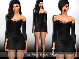 saliwa u0027s lace detail elegant dress