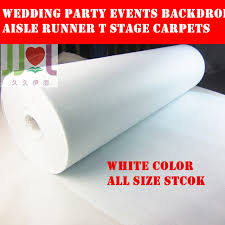 White Aisle Runner Aliexpress Com Buy Free Shipping Popular Pure White Cheap