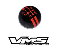 logo ford fiesta vms racing rally stripe with flaming mustang logo shift knob 6