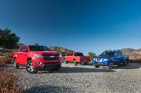 nissan truck 2015 comparison test chevrolet colorado vs nissan frontier vs toyota