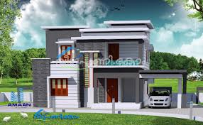 Contemporary Home With 4 Bdrms Kerala Contemporary House Design With 4 Bedrooms Kerala House