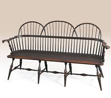 Colonial Settee Windsor Bench Ebay
