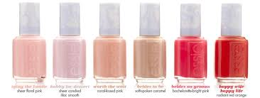 essie brides to be bridal collection 2015 c e894 nail