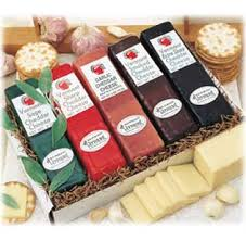 cheese gifts gifts 50 vermont cheddar cheese 5 bar pack