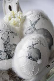 paper mache easter bunny jeanne d arc living paper mache easter eggs the teeny pom