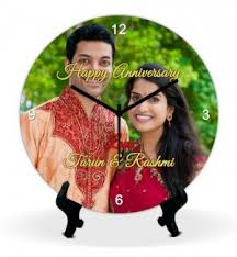Personalized Anniversary Clock Clock Travellers Personalized Anniversary Clock Online Shopping