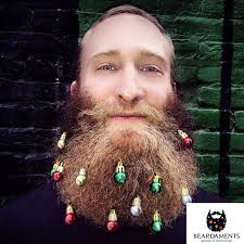 beard ornaments beardaments beard ornaments green gold silver by