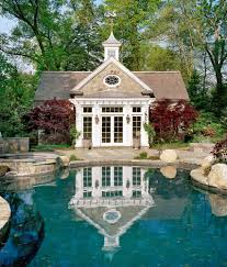 Pool House Ideas by Douglas Vanderhorn Architects Colonial Pool House