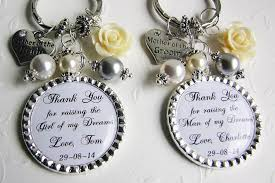 Wedding Gift Set Set Of 2 Wedding Gifts Personalized Keychains Personalized