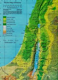 Map Of Palestine Palestine