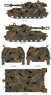 m109 sp howitzer merdc winter verdant camouflage color profile and